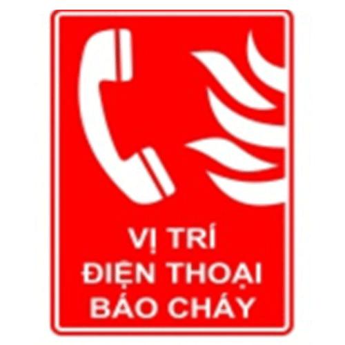 Bảng vị trí điện thoại báo cháy