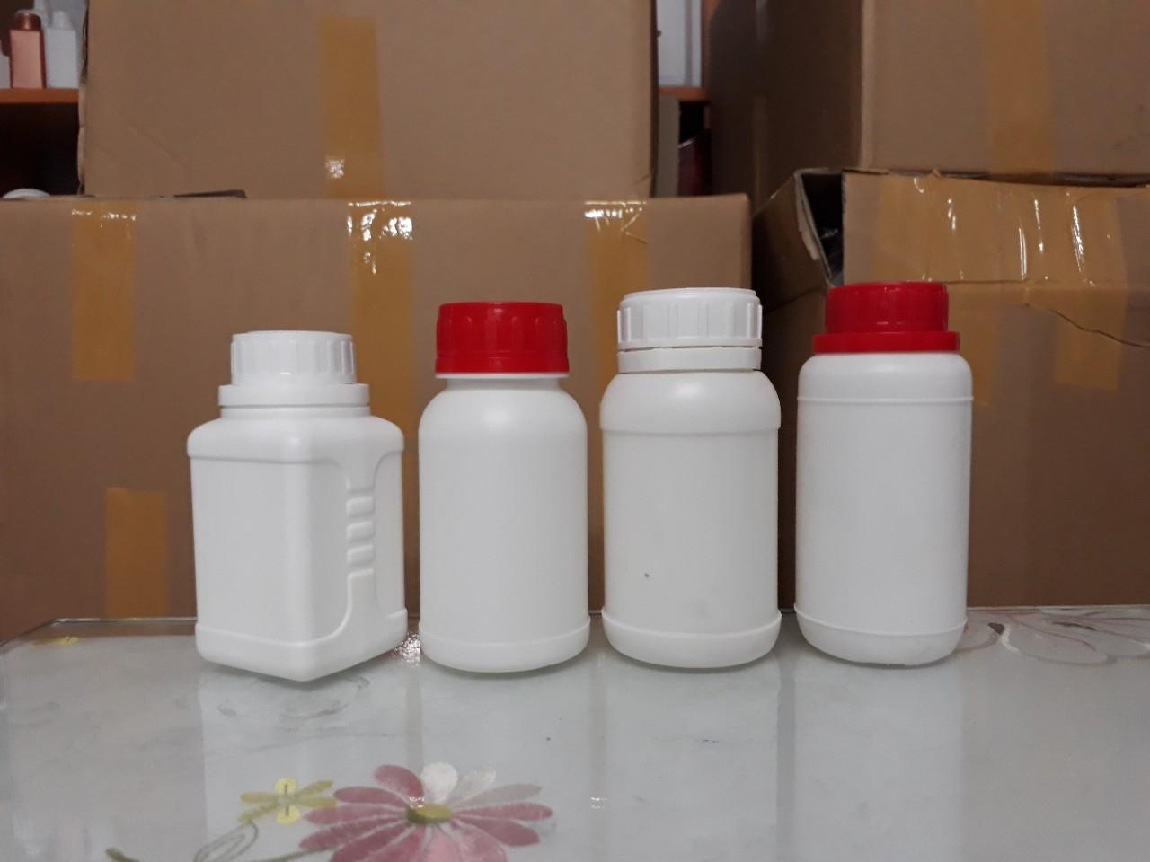 Lọ đựng thuốc làm bằng nhựa HDPE