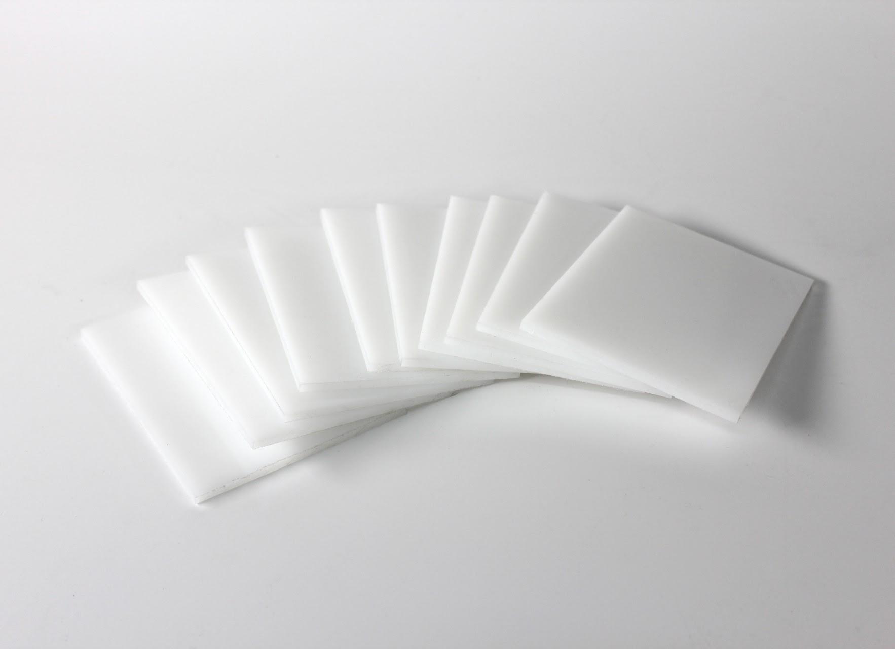 Tấm nhựa HDPE với bề mặt bóng mịn